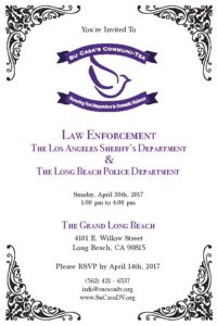 Su Casa Communi-Tea Fundraiser Invitation - April 30th