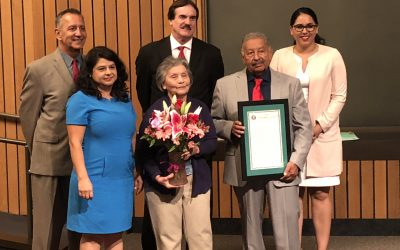 Su Casa Founder Receives Proclamation from the City of Hawaiian Gardens