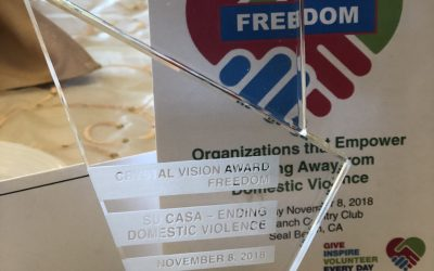 Su Casa Awarded Crystal Vision Award From Boeing Employees Community Fund