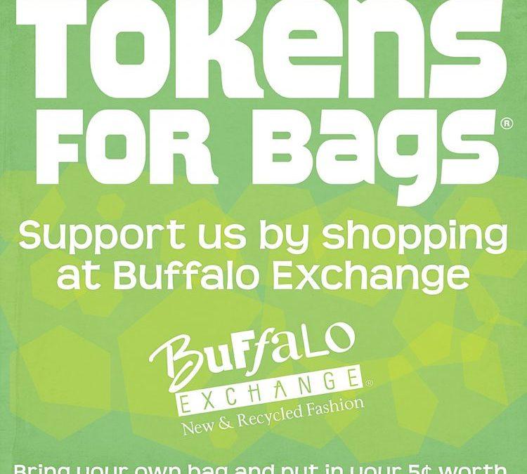 Buffalo Exchange Token for Bags