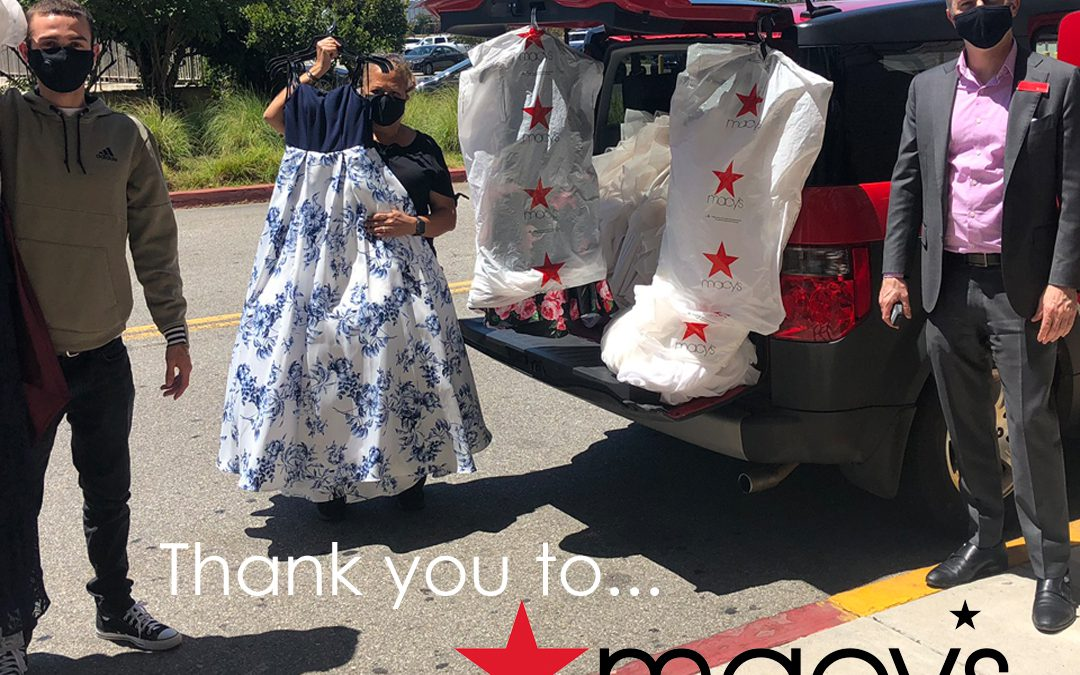 Macy's Donates Special Clothes to Su Casa's Kids