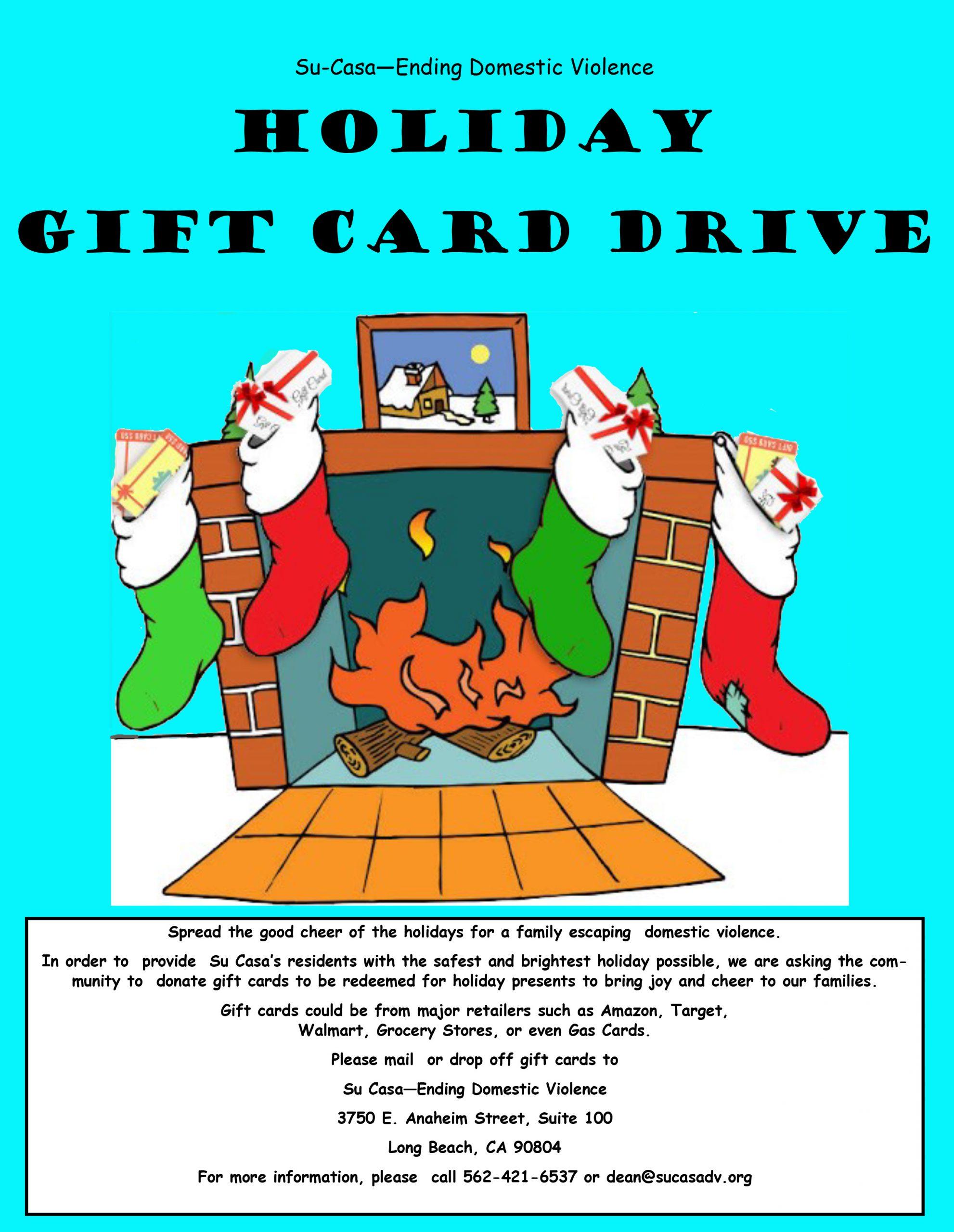 Holiday Gift Card Drive