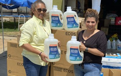 Sustainable Cleaning Supplies Donated
