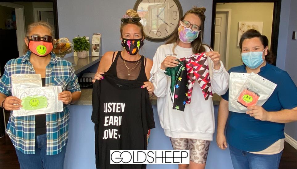 GOLDSHEEP Clothing Donation