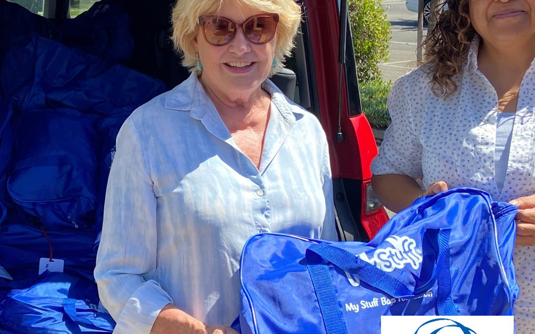 My Stuff Bags Donation Will Benefit Su Casa Children
